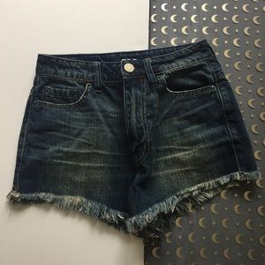 BDG super high rise cheeky shorts